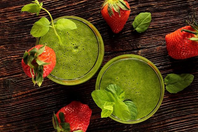 green koktejl
