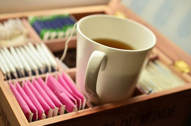 výběr čaje