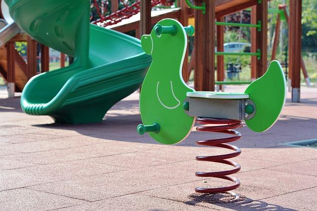 Zábava a radost na dětských hřištích
