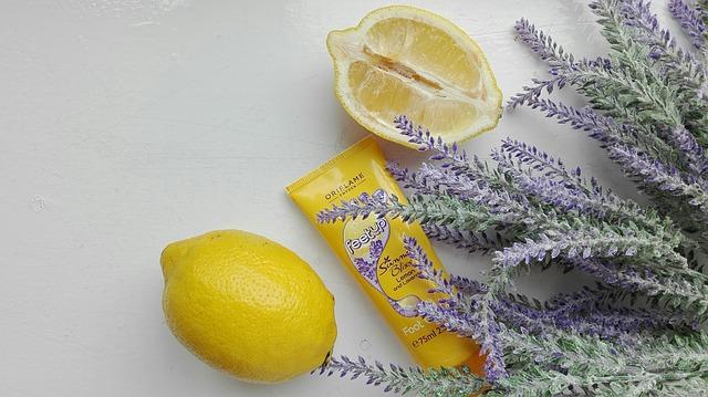 citron a levandule