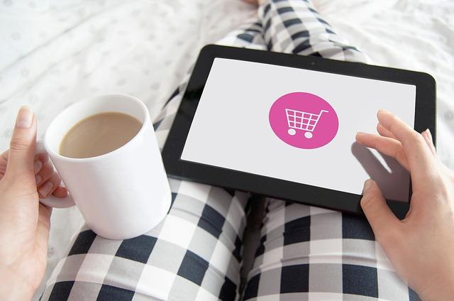 nakupování v pohodlí