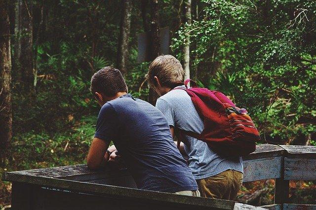 teenageři na výletě
