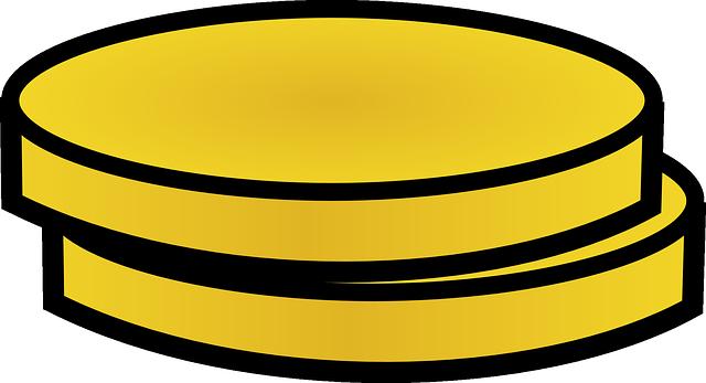 ilustrace – dvě zlaté mince